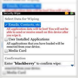 Cara Wipe Blackberry Curve 9300