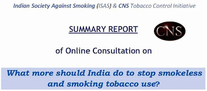Summary Report: What More Should India Do To Stop Smokelss and Smoking Tobacco use?