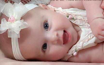 Gambar Bayi Perempuan Lucu