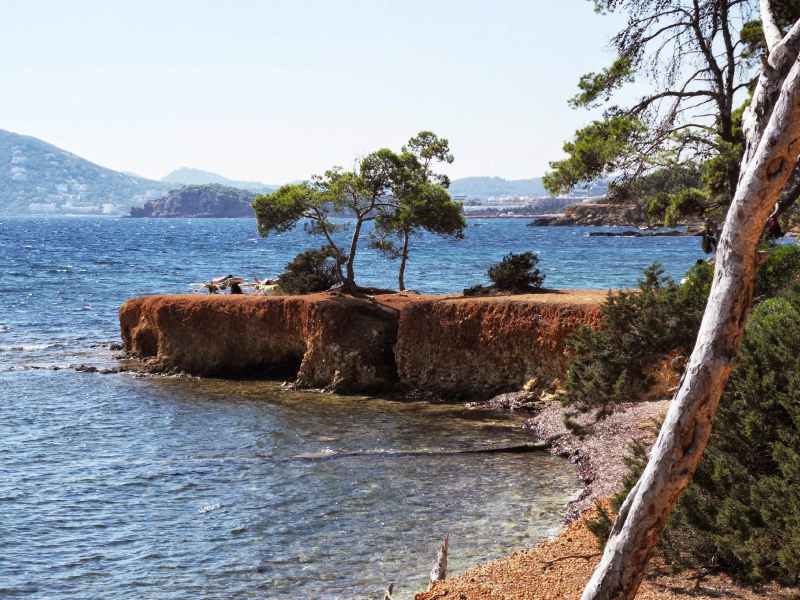 Ibiza coastl