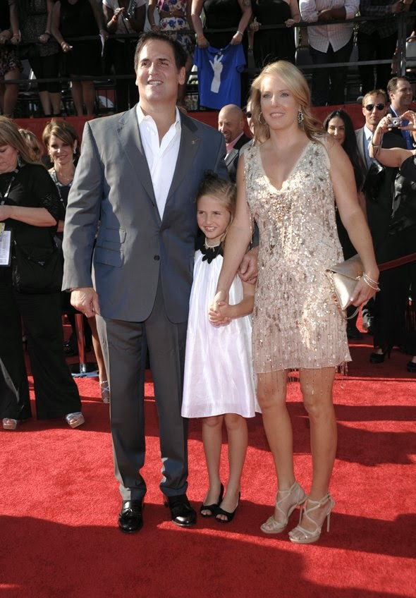 mark cuban with wife and daughter, hover_share
