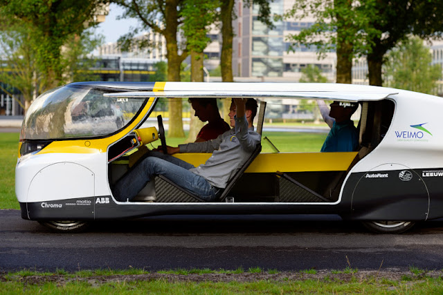 Solar Powered Family Car