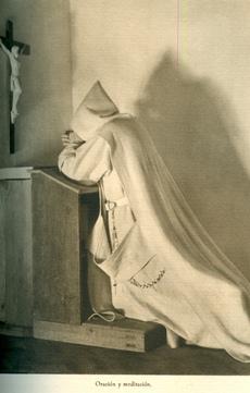 Un cartujo en oración