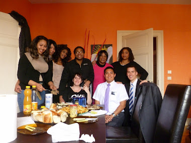 Elder Brown with Amis in Agen