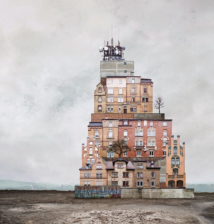 surreal houses collages matthias jung-8