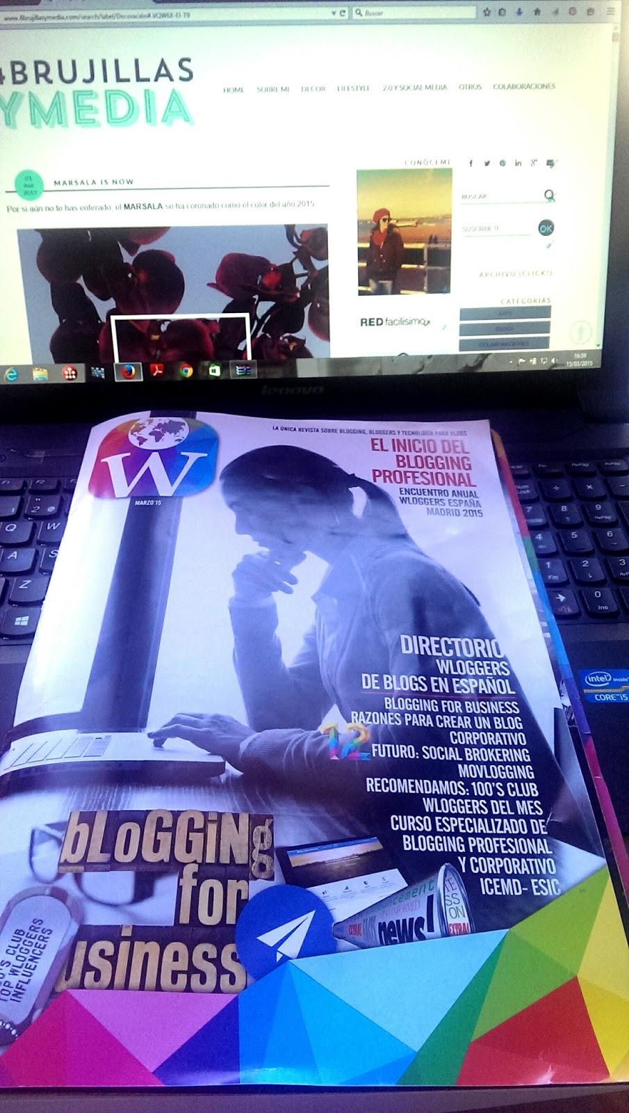 Wloggers 2015, Madrid, Revista