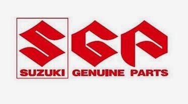 Harga Suku Cadang Asli Motor Suzuki Lengkap Terbaru 2014