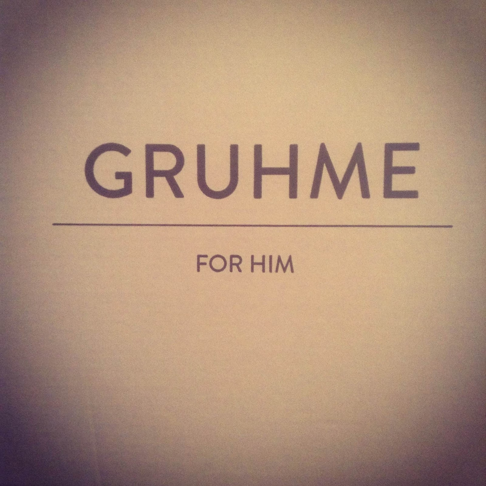 Gruhme for Him EDT