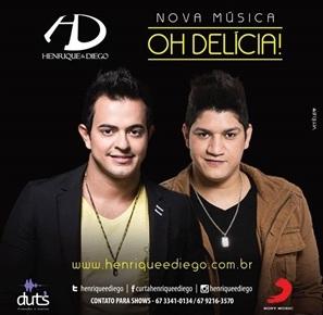 Henrique+e+Diego+ +Oh+Del%C3%ADcia Henrique e Diego   Oh Delícia