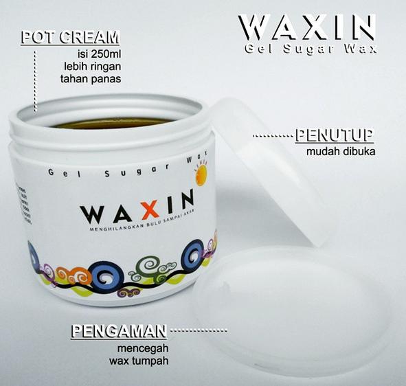Review Waxin Gel Sugar Hair Wax penghilang bulu