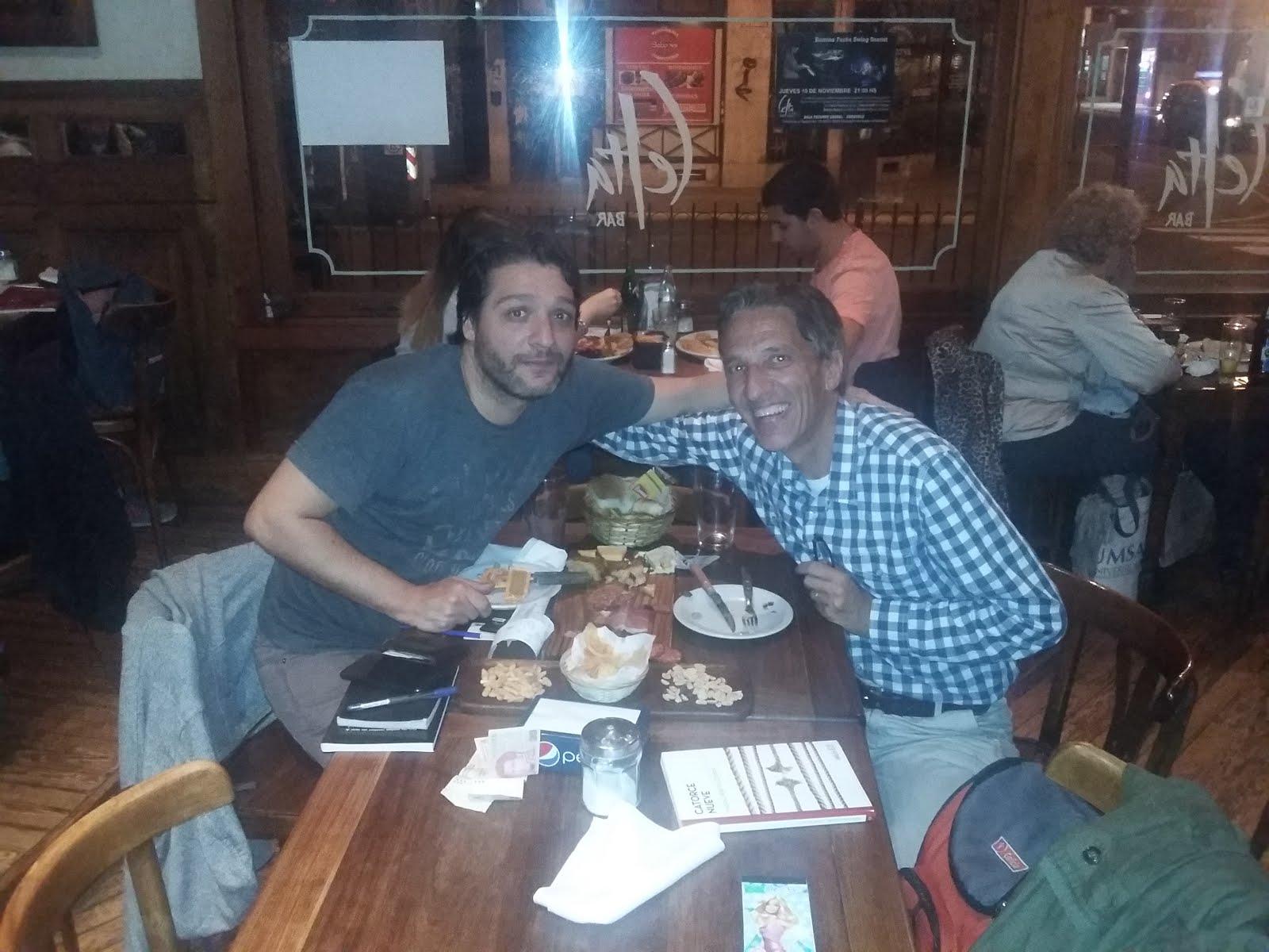 Con Mariano Pereyra Esteban