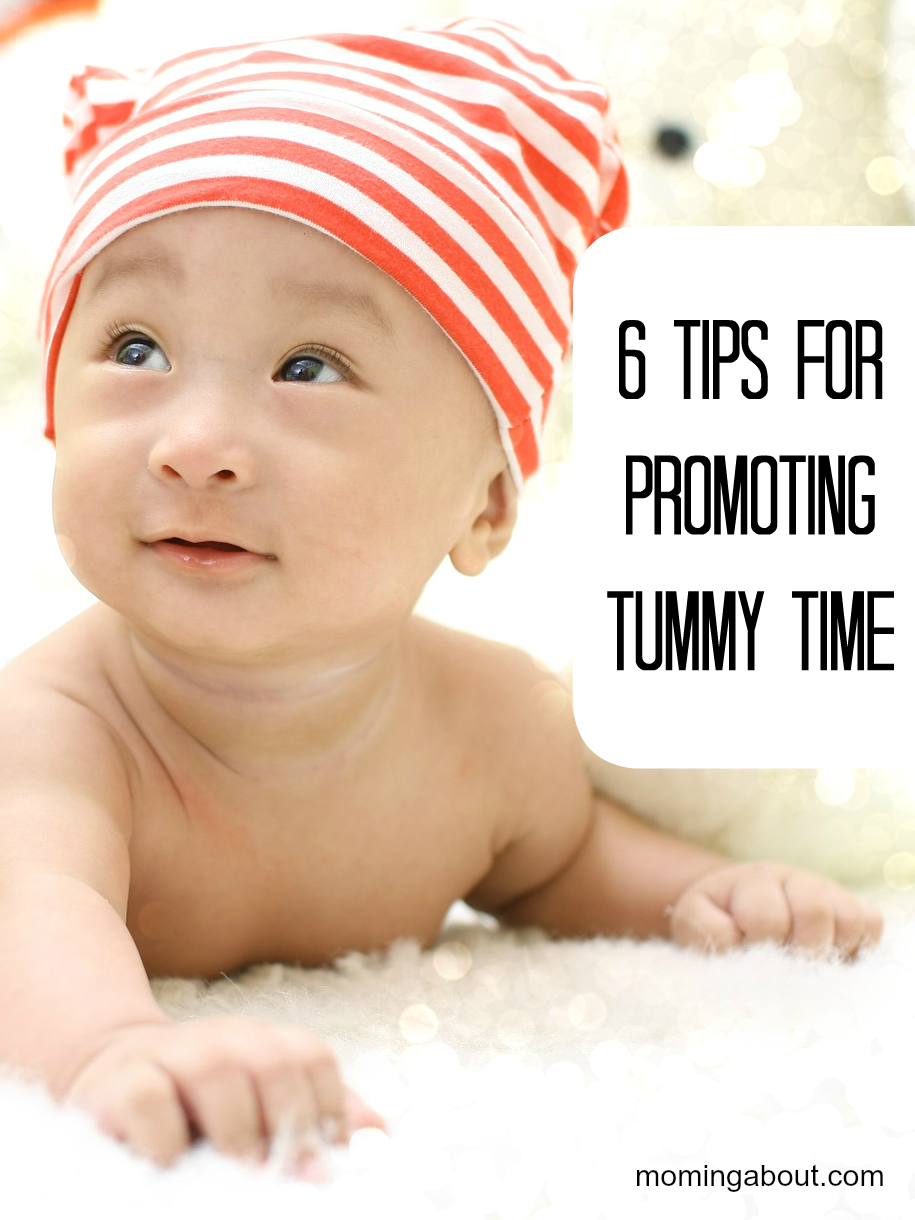 6 Tips for Baby Tummy Time