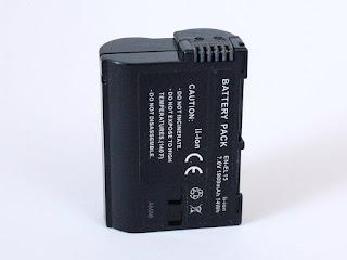 Ersättningsbatteri EN-EL15