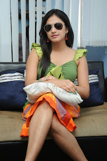 Actress Haripriya Exclusive  Pictures at Glitters Film Academy Banjara Hills Hyderabad  59.JPG