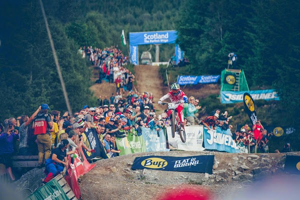 2014 Fort William UCI World Cup Downhill: Finals Highlights