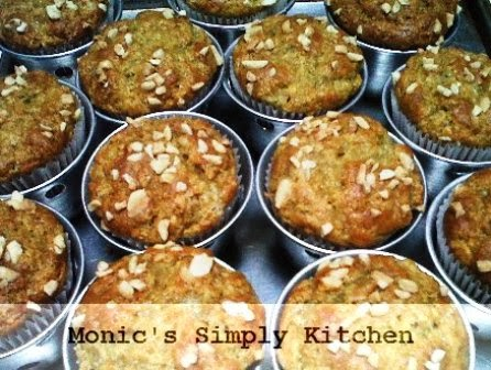 resep banana buttermilk muffin