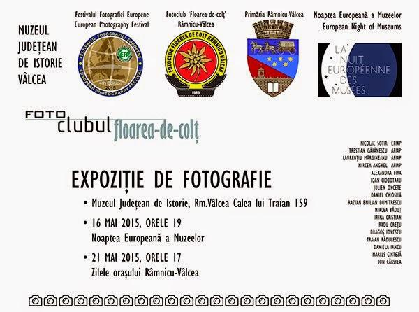 Expoziţie de fotografie 16 mai - 12 iunie 2015