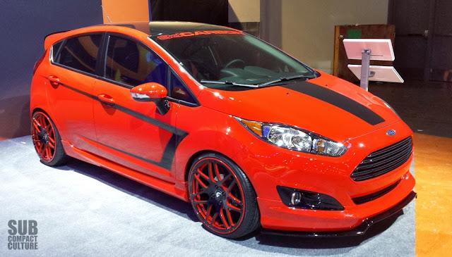 3D Cabon Ford Fiesta