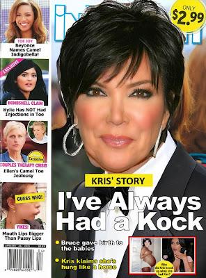 Kris Jenner transgender camel toe