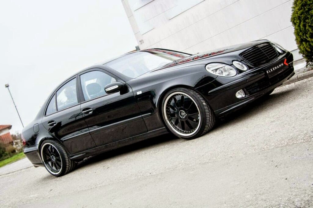 2002 mercedes benz w211 e500 by kleemann domanig. Black Bedroom Furniture Sets. Home Design Ideas