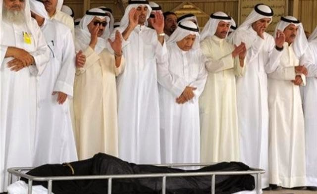 Triliuner Nasser Al-Kharafi terakhir kali dishalati