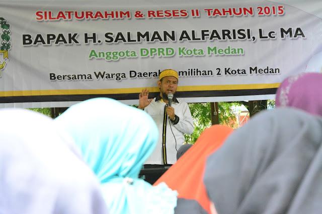 Warga Dipersulit, Salman Alfarisi Mendadak Datangi Kantor BPJS Kota Medan