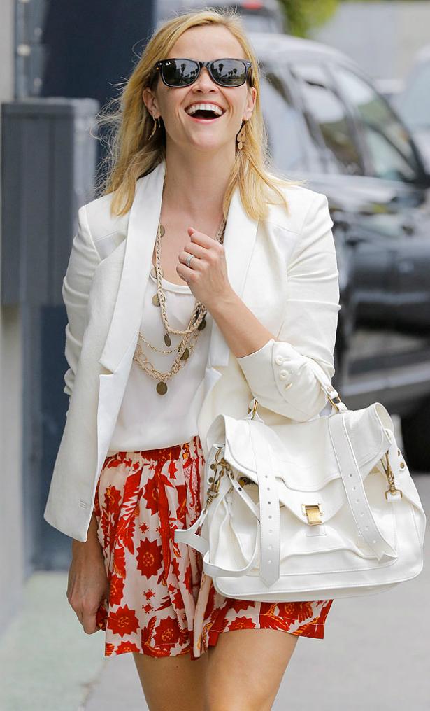 Reese Witherspoon la precavida