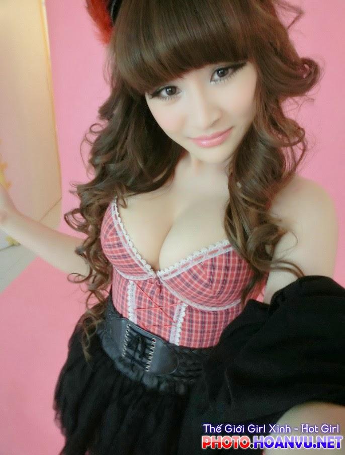 Ảnh Hot girl Suxia tự sướng khoe bưởi bá đạo 14