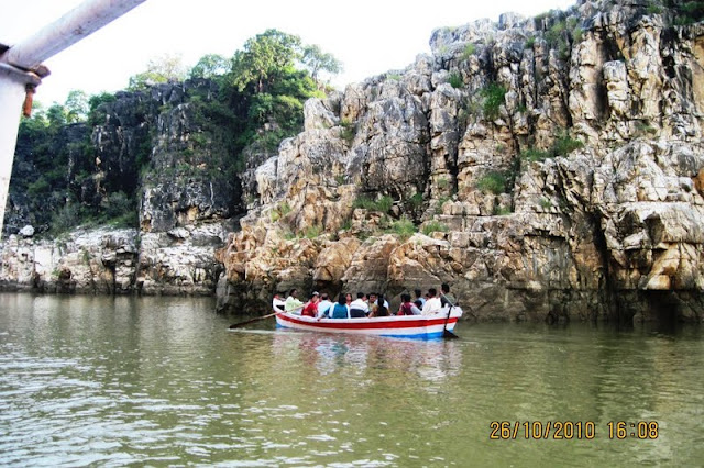 Boating at Narmada River