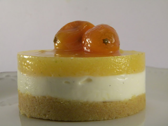 mini cheesecake al kumquat (mandarini cinesi)