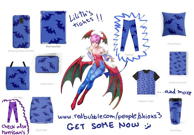 http://www.redbubble.com/people/shions3/works/18630622-lilith-darkstalkers-tights-print?c=460154-cosplay-prints