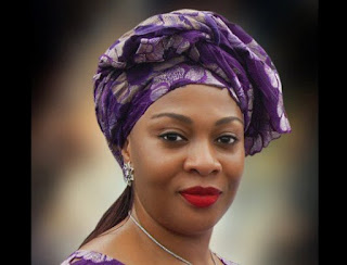 Saraki's sister turns against Senate President, declares support for Buhari