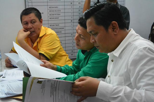 Alamak ! Daftarkan Dzulmi Eldin-Akhyar Nasution, Berkas Golkar dan PPP di Tolak