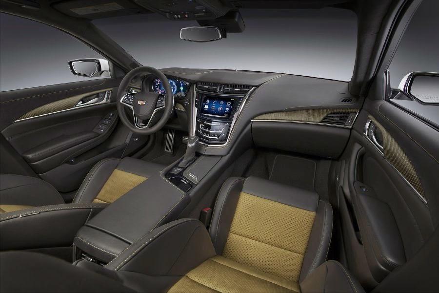 Cadillac CTS-V Sedan (2016) Interior