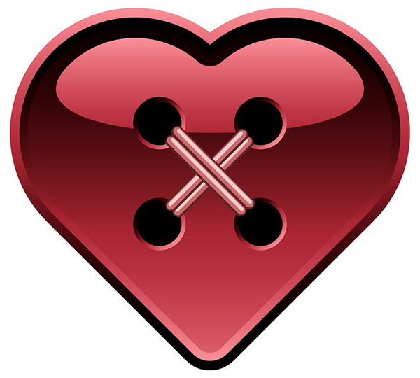Button Heart Icon