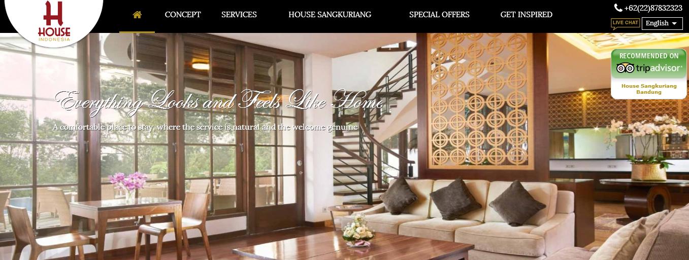 Singgasana Hotels di Bandung