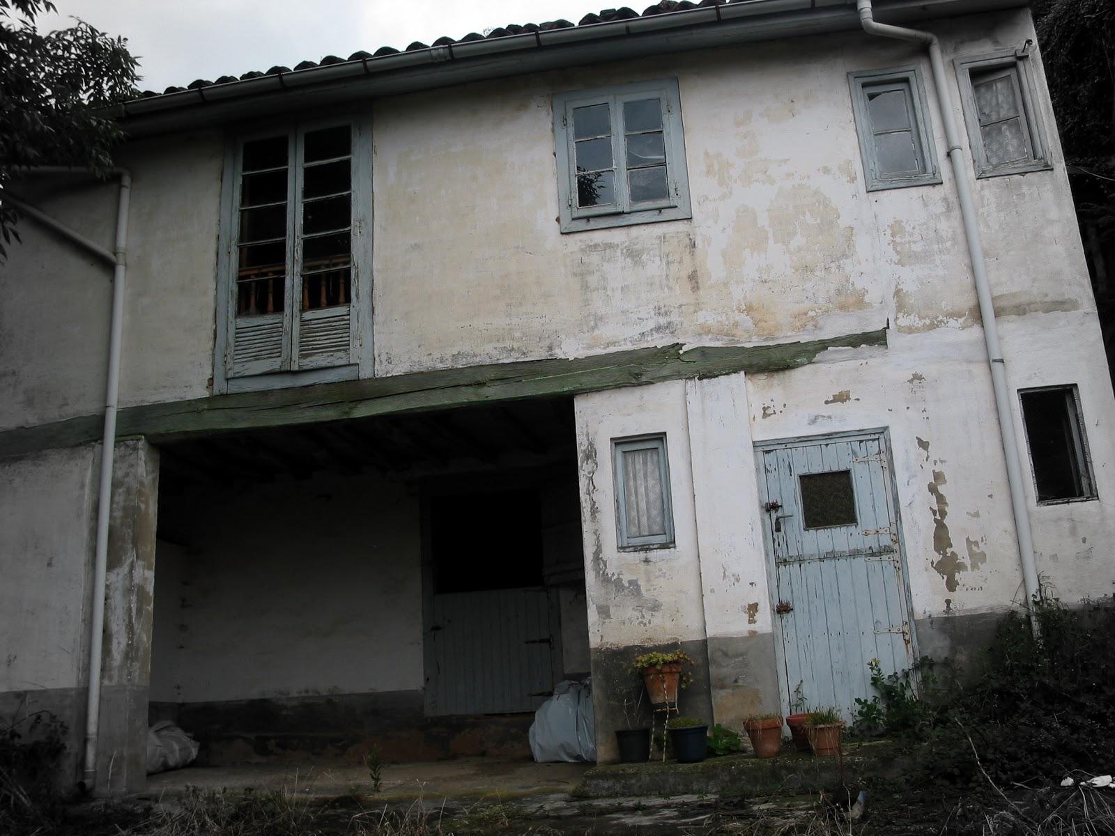 Ac arquitectos casa de madera y piedra en asturias - Fotos de casas de madera y piedra ...