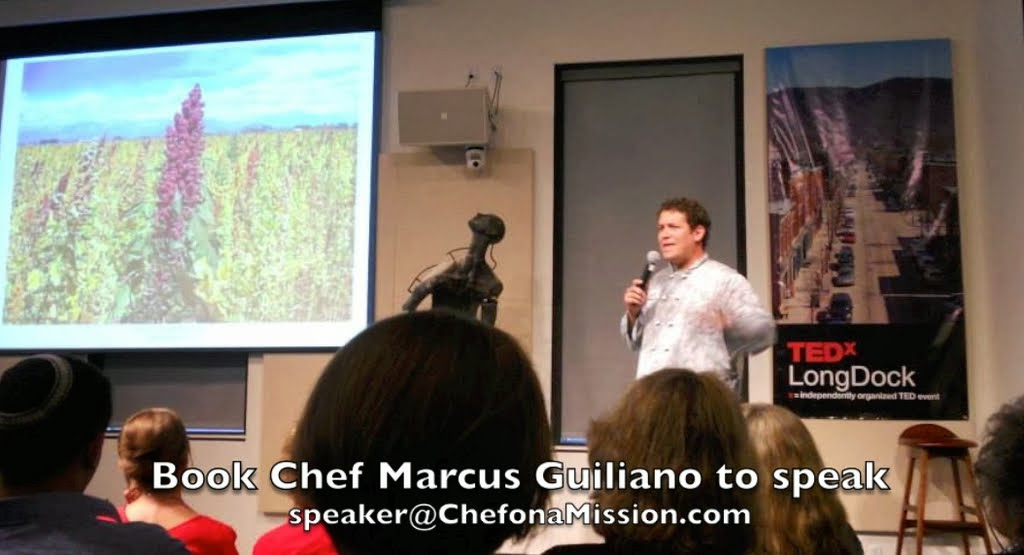 Book Chef Marcus Guiliano to Speak
