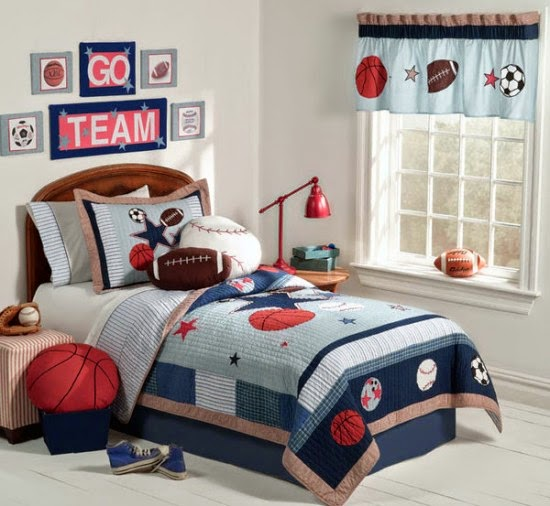 Nội thất với phong cách thể thao cho phòng ngủ của bé 11
