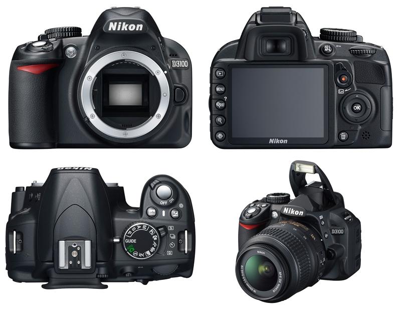 Harga dan Spesifikasi Kamera Digital Nikon D3100