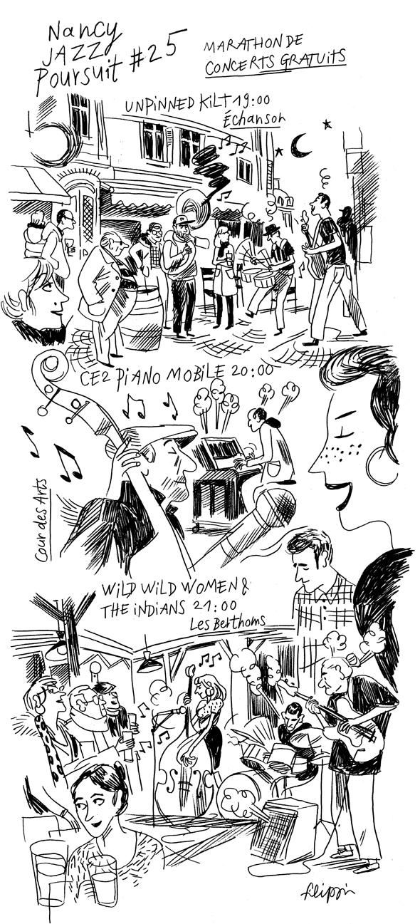 Studio Shebam - La Jazzette - Paul Filippi