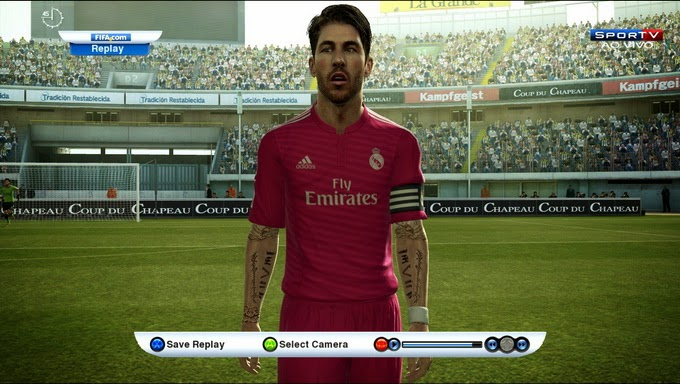 PES 2013 Real Madrid 2014/15 Kits by Preator