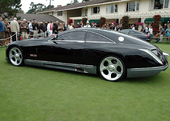 Sports Car 2011 Maybach Exelero 8 Million Dollar
