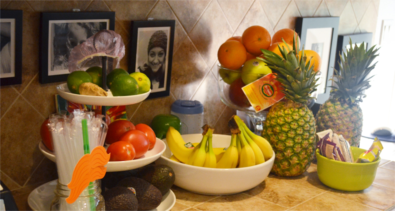 Put A Fruit Bowl On The Kitchen Counter