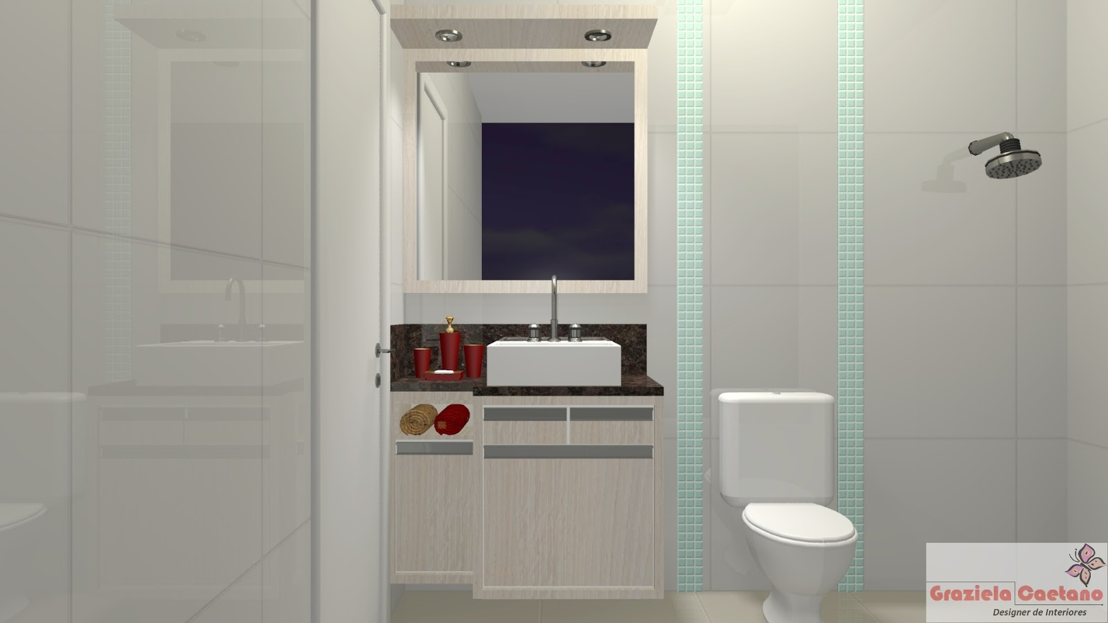Espaço Nobre Design: Balcão de Banheiro (Carvalho Latino) #662620 1600x900 Balcão Para Banheiro Bosi