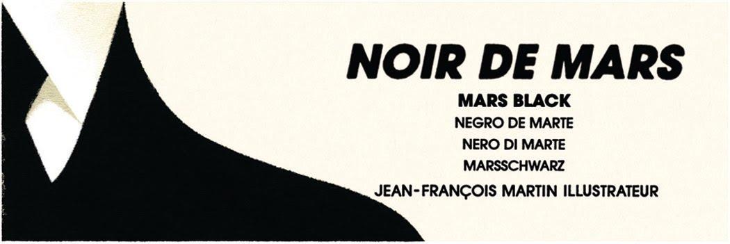 Jean-François Martin, Illustrateur - Noir de Mars