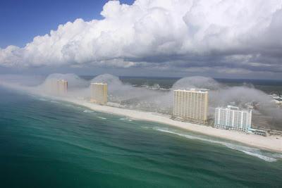 Fotos de Tsunami de Nubes en Panamá 2012