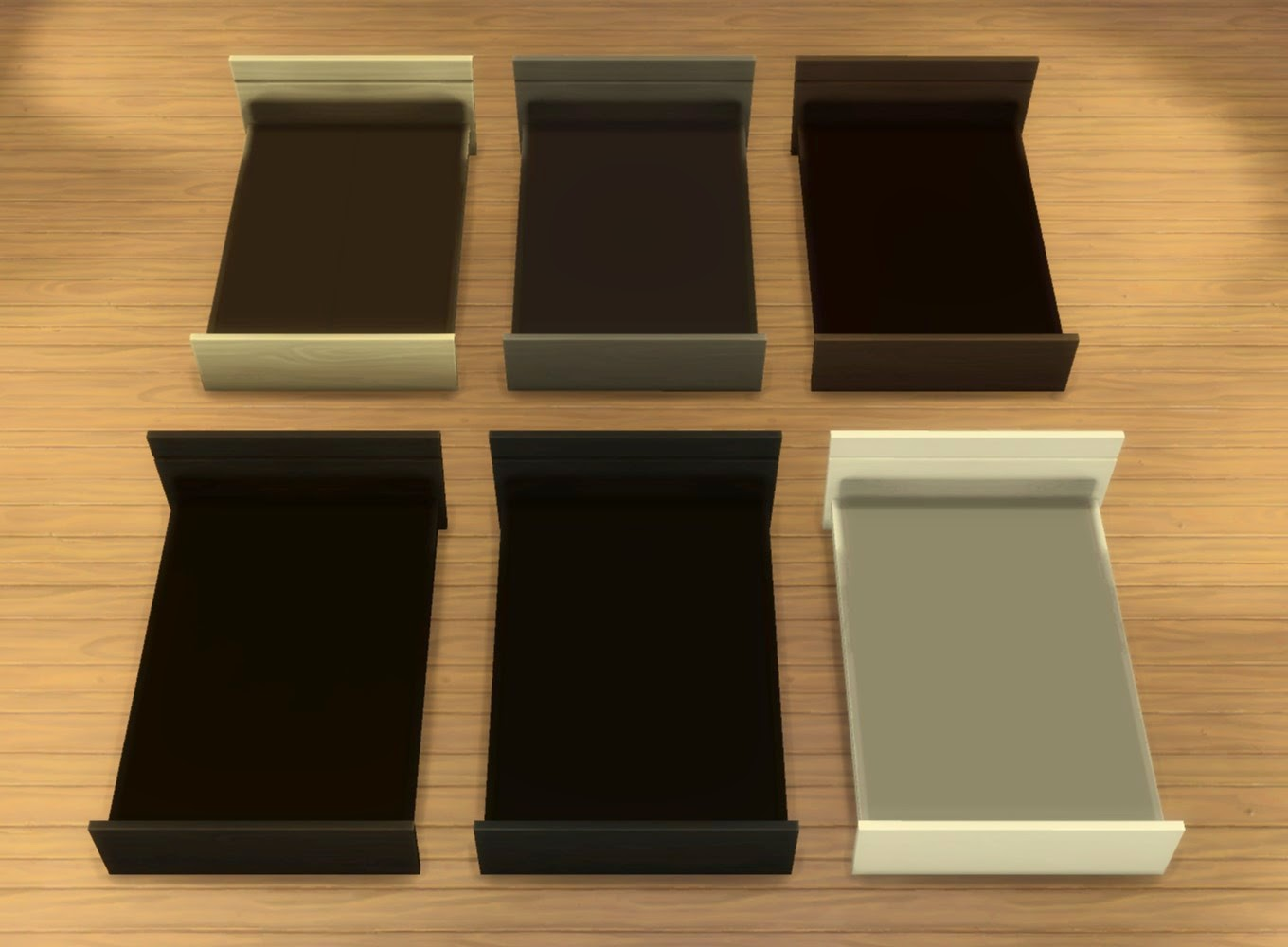 My Sims 4 Blog: ModPod/TeenDreams Bed Frames by plasticbox