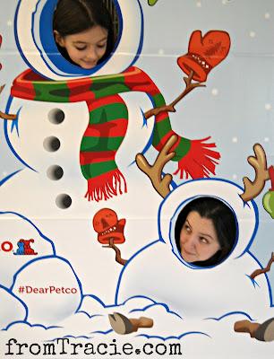Katarina Snowwoman and Tracie Reindeer