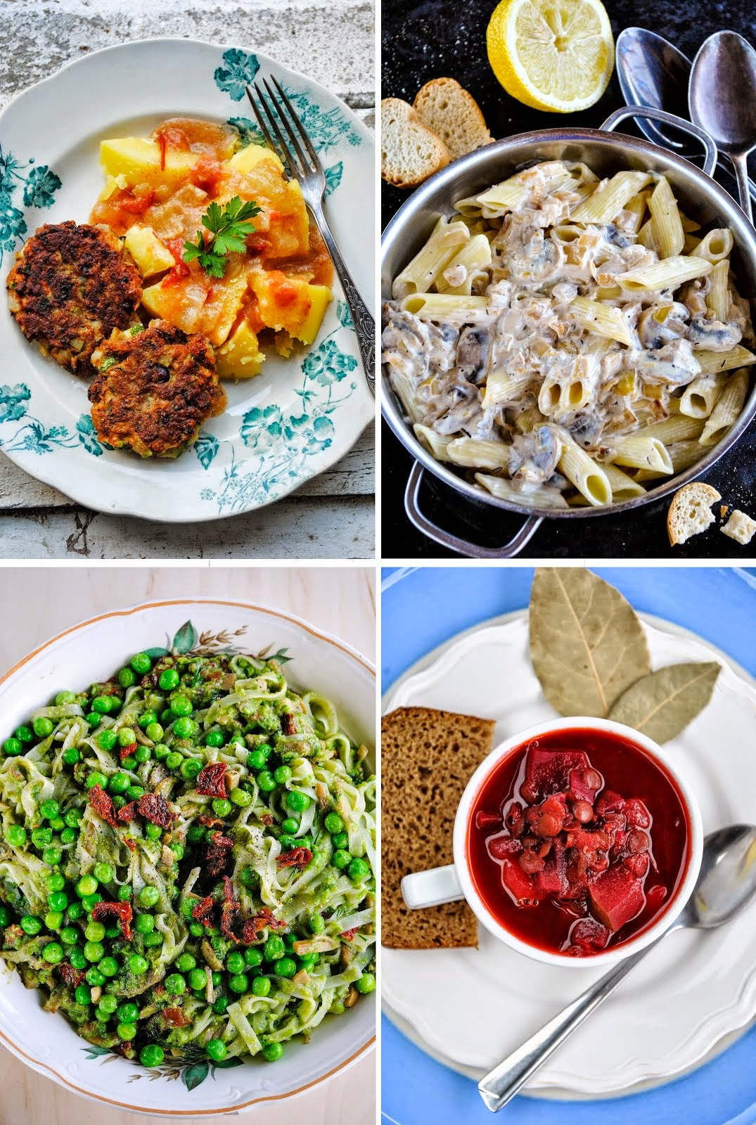 What to make for dinner tonight? Check out free one week vegan menus with a grocery shopping list!